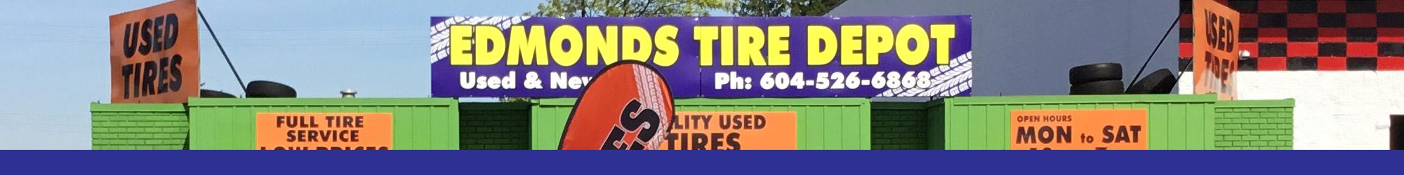 About Edmonds Tire Depot